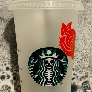 Day of the Dead Starbucks Cup